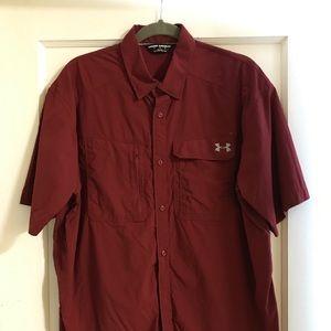 Men's UA SS collared shirt